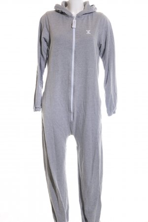 Onepiece Leisure suit light grey flecked casual look