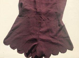 H&M Traje de pantalón violeta amarronado