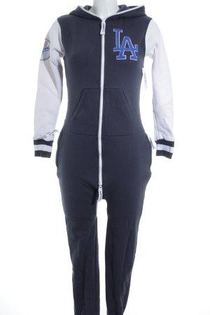 Onepiece Jumpsuit platzierter Druck sportlicher Stil