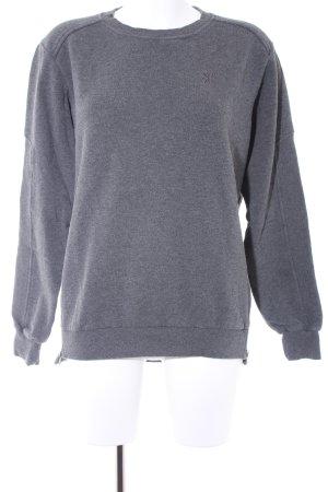 Onepiece Oversized Pullover grau Boyfriend-Look
