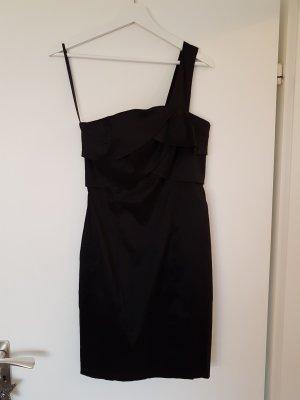 Oneshoulder Cocktail Kleid in Schwarz