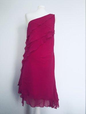 Coast One Shoulder Dress magenta
