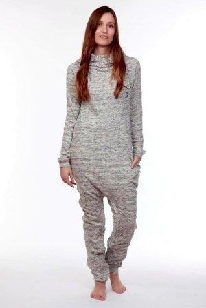 Onepiece Onesie grey-light grey cotton