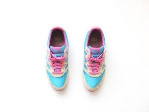 Onitsuka Tiger Gr. 39,5 Sneaker pink türkis gelb trend