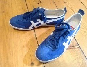 Onitsuka Tiger Halbschuhe, Sneakers, blau