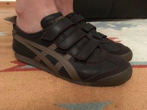 Onitsuka tiger Sneaker con strappi marrone scuro-marrone chiaro