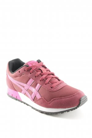 Onitsuka tiger Schnürschuhe rostrot-pink Casual-Look