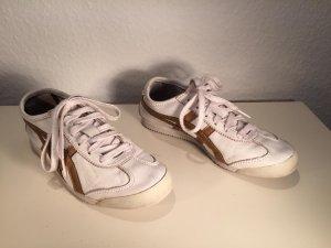 Onitsuka Tiger Sneaker/Turnschuhe Gr.37 weiß-gold