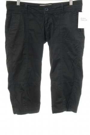 Only 3/4 Length Trousers black casual look