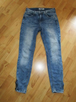 Be only 3/4-jeans blauw