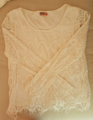 Only Lace Top white