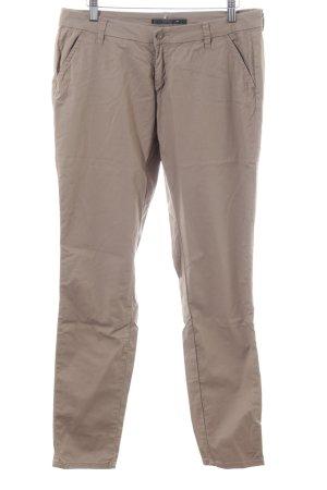 Only Pantalon 7/8 brun style décontracté