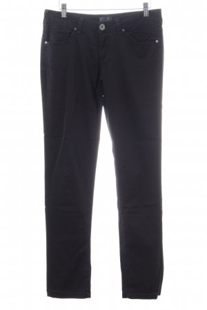 Only 7/8-Hose schwarz Casual-Look