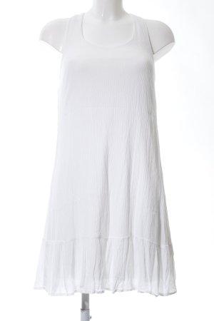 Only A-Linien Kleid weiß Casual-Look