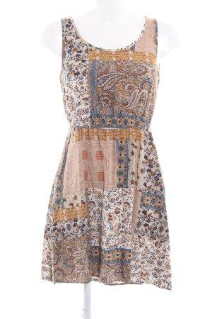 Only A-Linien Kleid Aztekenmuster Casual-Look
