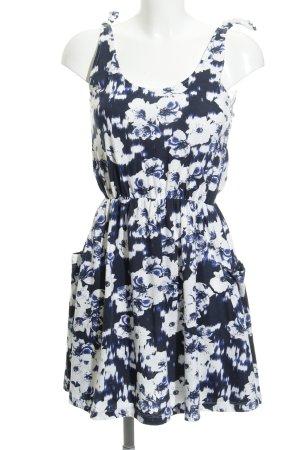 Only A-Linien Kleid Blumenmuster Casual-Look