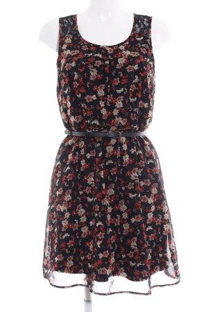 Only A-Linien Kleid Blumenmuster Romantik-Look
