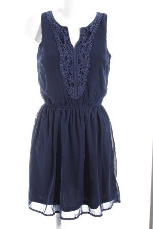 Only A-Linien Kleid dunkelblau Casual-Look