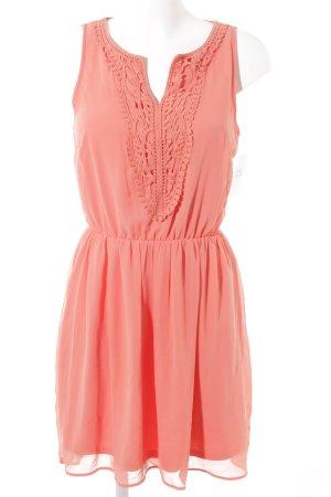 Only A-Linien Kleid lachs Elegant