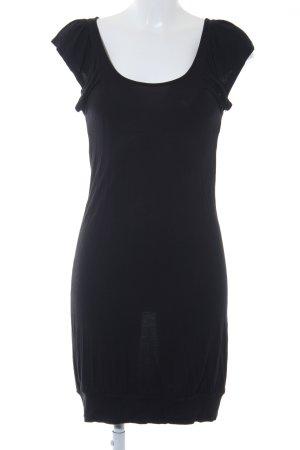 Only A-Linien Kleid schwarz schlichter Stil