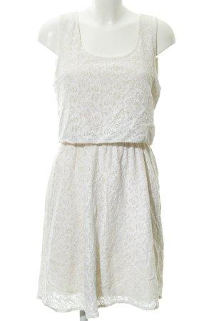 Only Abendkleid creme Romantik-Look