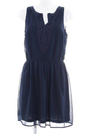 Only Abendkleid dunkelblau Elegant
