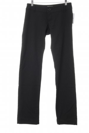 Only Suit Trouser black-green striped pattern business style