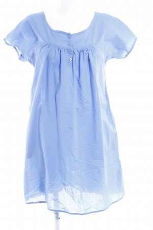 Only Vestido babydoll azul aciano look casual