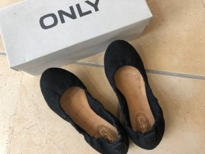 Only Ballerinas black imitation leather