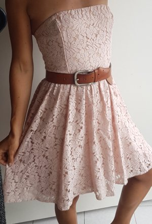 Only Bandeau Dress pink