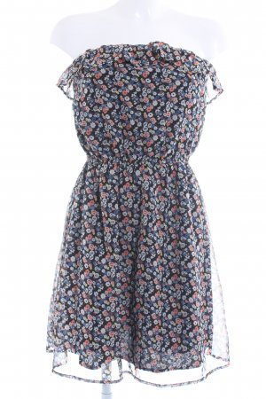 Only Bandeaukleid florales Muster Beach-Look