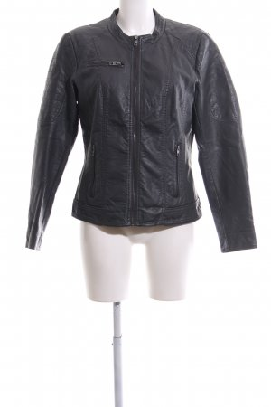Only Bikerjacke schwarz Business-Look