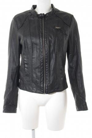 Only Veste motard noir Look de motard