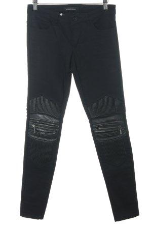 Only Jeans da motociclista nero Stile ciclista