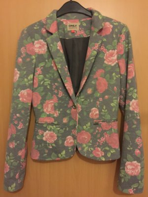 Only Blazer mit Blumenprint