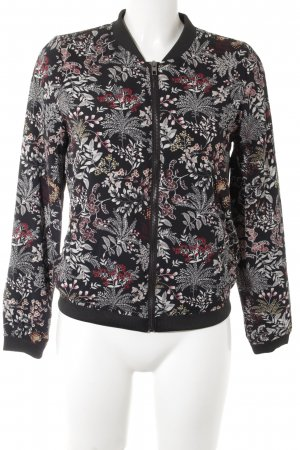 Only Blouson flower pattern casual look
