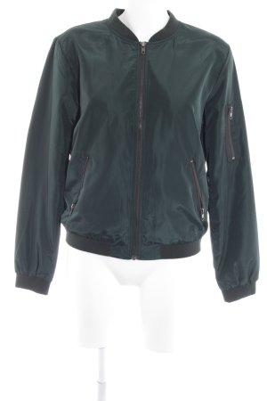 Only Blouson dark green wet-look