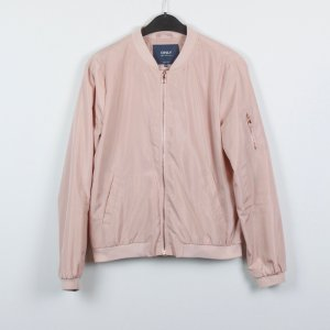 Only Blouson rosa chiaro Poliestere