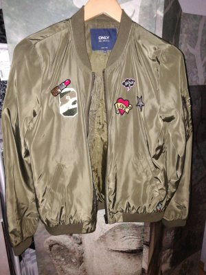 Only Bomber Jacket olive green