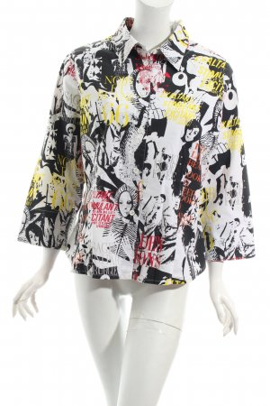 Only Bluse abstraktes Muster Street-Fashion-Look