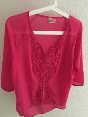 ONLY BLUSE - Pink Gr. 36/S