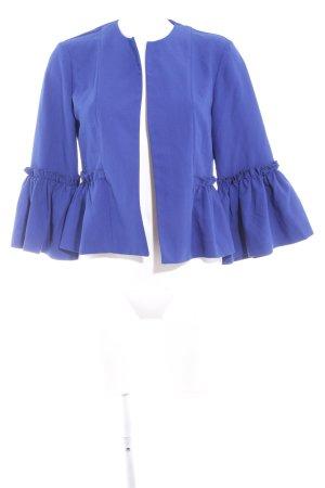 Only Chaqueta tipo blusa azul elegante