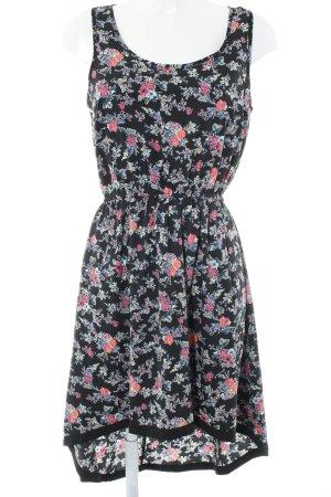 Only Blusenkleid Blumenmuster Romantik-Look