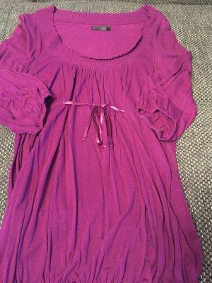 ONLY Blusenshirt, Gr. S purpur-farbig