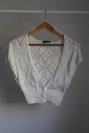 Only Crochet Cardigan multicolored cotton