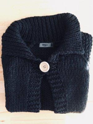 Only Knitted Bolero black