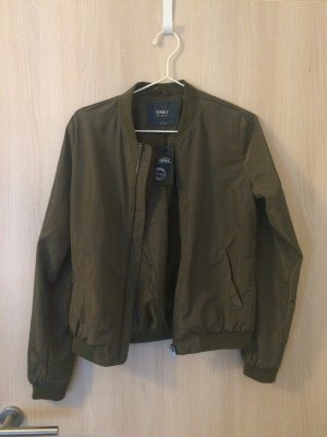 Only Bomber Jacket green grey