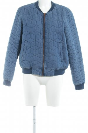 Only Bomberjacke blau Casual-Look