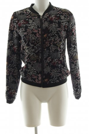 Only Bomber Jacket flower pattern casual look