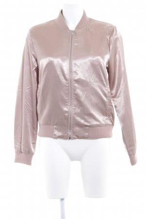 Only Giacca bomber color oro rosa stile casual